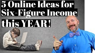 Secrets to Making Money in 5 Online Businesses