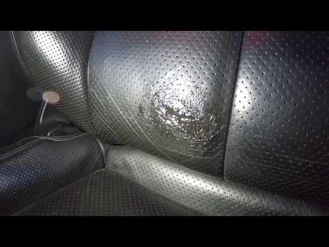 Permatex Leather repair on an Infiniti G37