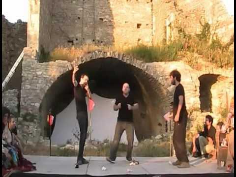 Les Louveteaux de l'Impro Comédie Musicale Neandertal Préhistoire Festizart 2016