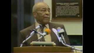 Ray Dandridge 1987 Hall of Fame Induction Speech