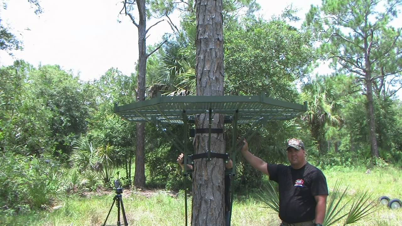 360 Tree Stand Assembly Video Youtube