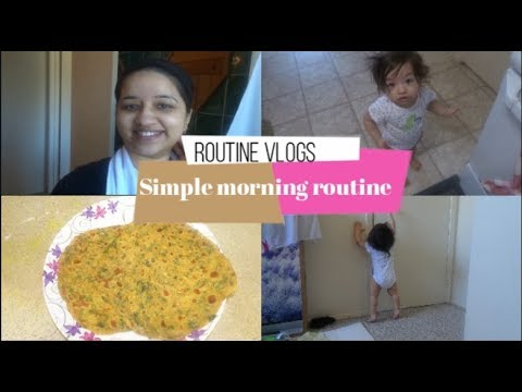 morning-routine-of-mom-&-baby-|-2-ingredient-face-pack-for-bright-skin|