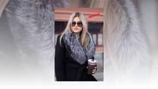 Обзор зимнего пальто с мехом чернобурки. Шопинг. Shopping. ValArt.