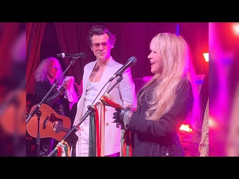 Landslide - Harry Styles & Stevie Nicks (Gucci Cruise 2020)