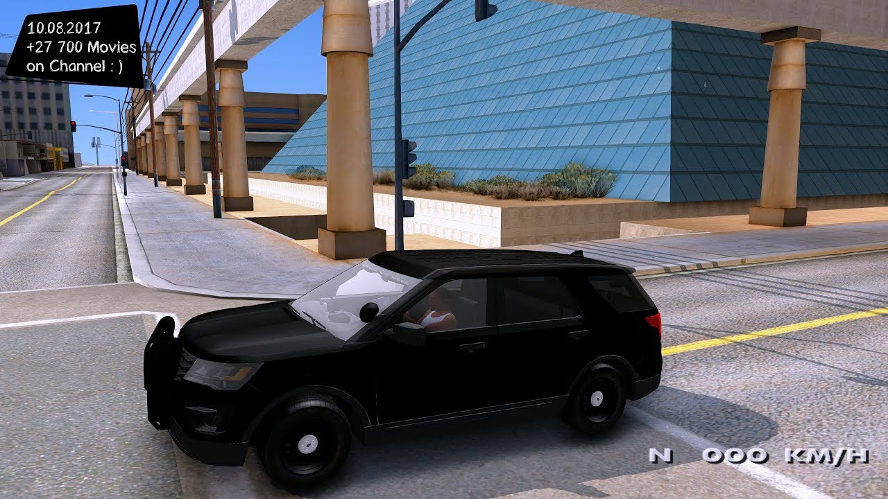 Unmarked 2016 Ford Explorer New ENB Top Speed Test GTA Mod Future - YouTube