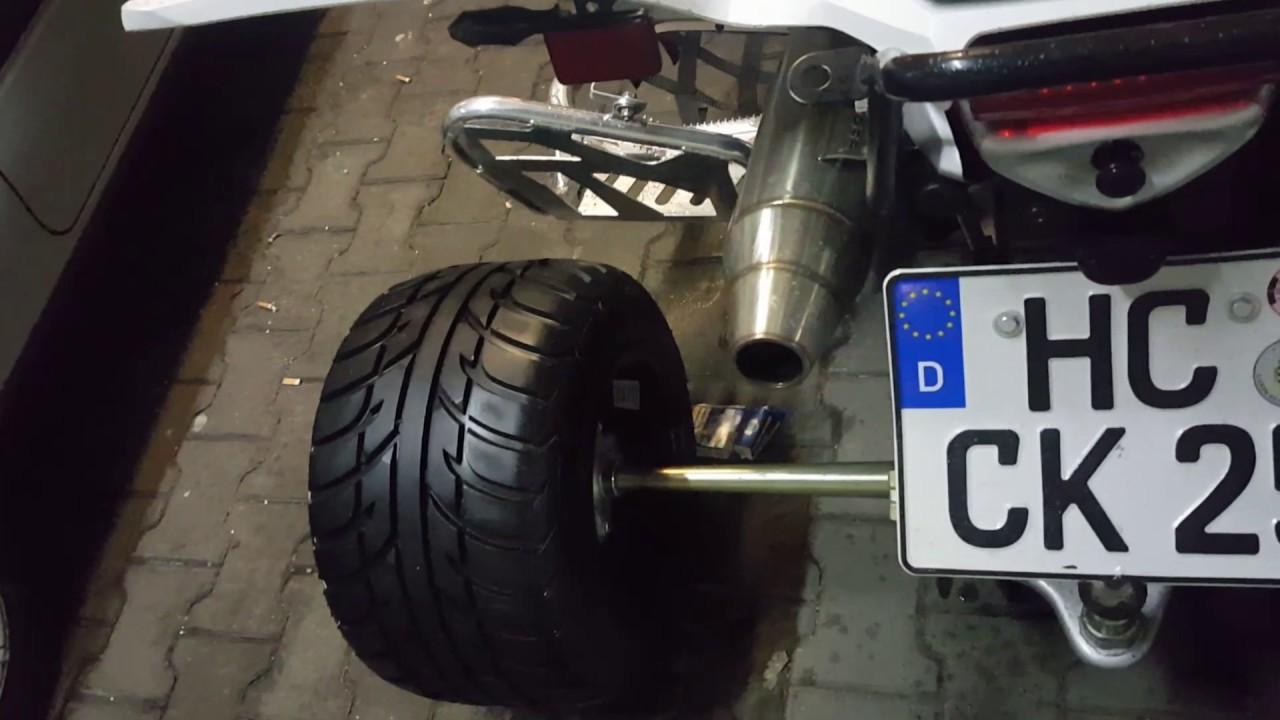 Aeon Cobra 400 GPR Auspuff ohne DB Killer