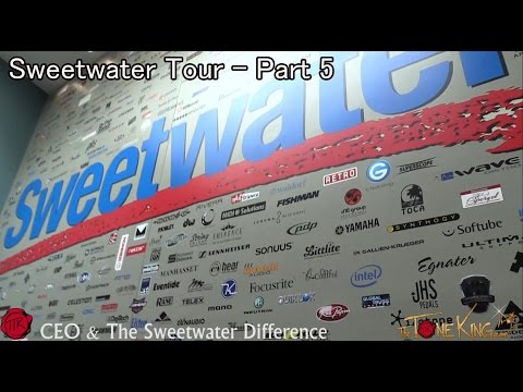 Sweetwater Tour - Pt. 5 - CEO and The SW Difference
