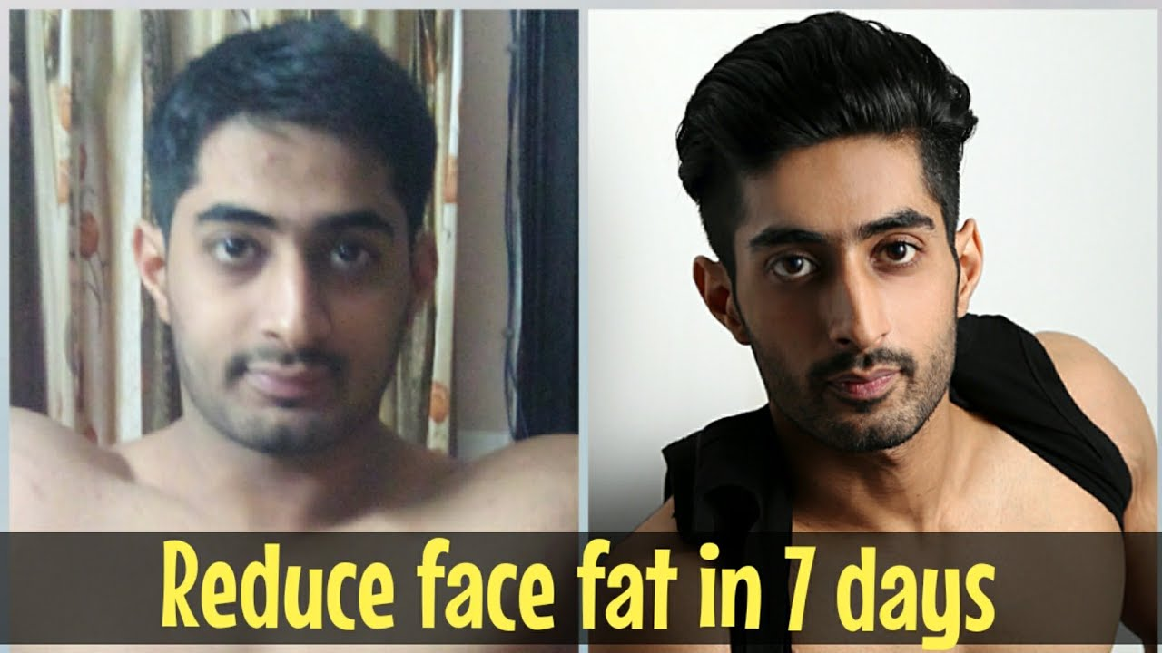 How to lose face fat in 3 days