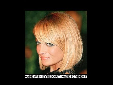 Nicole Richie Bob Hairstyles 2016 Youtube