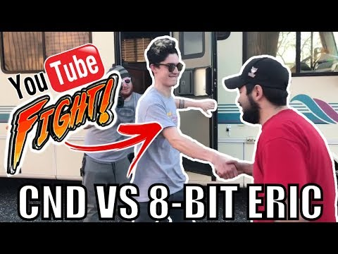 SWITCH YOUTUBERS MEET FOR FIRST TIME... AND FIGHT! (PAX South) | 8-Bit Eric