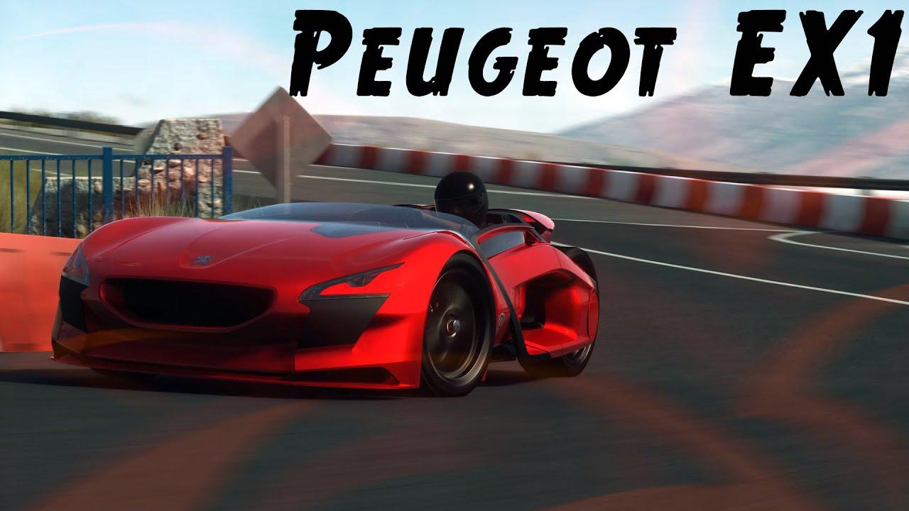 DRIVECLUB   PEUGEOT EX1 CONCEPT