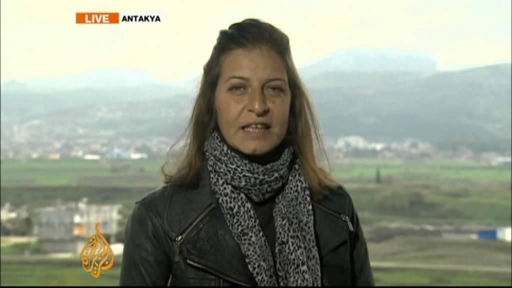 Al Jazeera S Zeina Khodr Speaks Live From Antakya Youtube