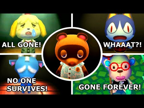 Evolution Of Deleting Save Data In Animal Crossing Games (2001 - 2020)
