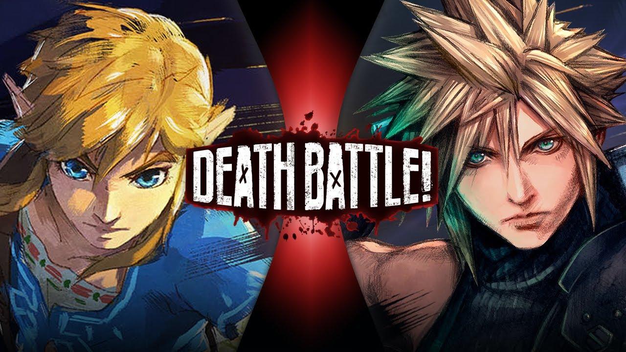 Download Link VS Cloud (Legend of Zelda VS Final Fantasy VII) | DEATH BATTLE!
