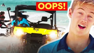 Every Time The Lifeguard Buggy Gets Bogged on Bondi Rescue