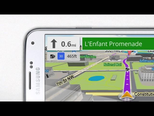 Sygic Offline GPS Navigation 70% Off For A Limited Time