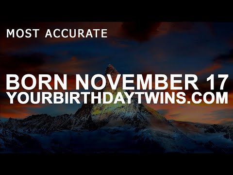 Born On November 17 | Birthday | #aboutyourbirthday | Sample
