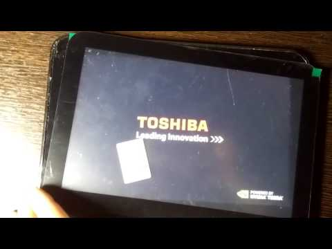 Toshiba Excite 10 AT305 sensor touch panel - is not working