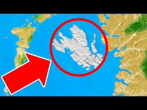 A Huge Moving Island Just Appeared Out of Nowhere