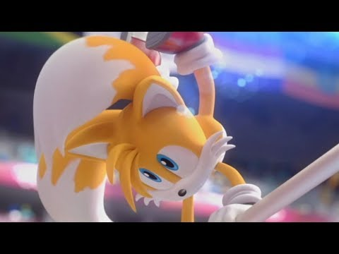 Mario & Sonic at the London 2012 Olympic Games - Uneven Bars (All Characters)