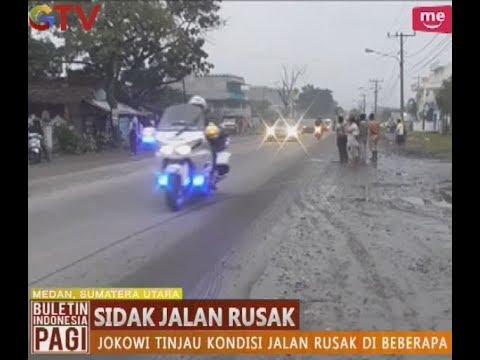 Presiden Jokowi Sidak Langsung Jalan Rusak di Kota Medan - BIP 17/10