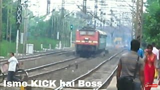 One of the shortest and fastest trains in India Rajya-Rani-Express at full speed | Beautiful Weather