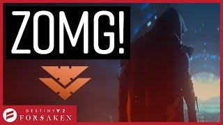 Destiny 2 Forsaken - STORY REVEAL TRAILER!!