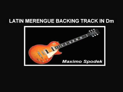 LATIN MERENGUE BACKING TRACK IN Dm thumbnail