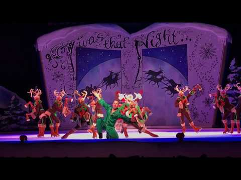 Busch Gardens Williamsburg 'TWAS THAT NIGHT on ice  2017