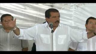 Discurso de Eviel Pérez Magaña en San Juan Bautista Cuicatlán