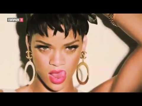 Rihanna - Complex Photoshoot 2013 Behind The Scenes