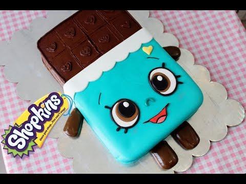 Pastel de Shopkins | Cheeky Chocolate paso a paso!