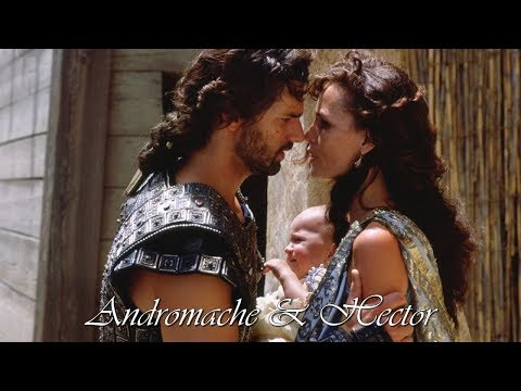 Andromache & Hector Troy