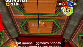 Sonic Heroes PC Gameplay - Power Plant - Team Sonic