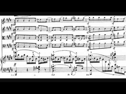 Elgar - Piano Quintet in A minor, Op. 84 (1918)