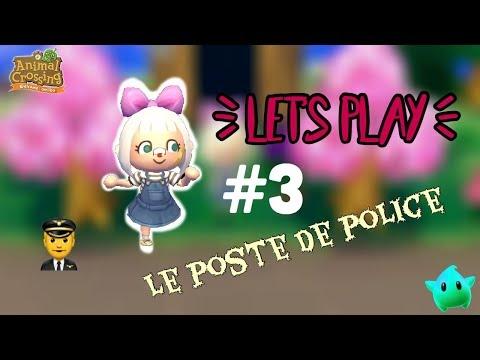 ACNL - LET'S PLAY #3 // POSTE DE POLICE 👮♂️
