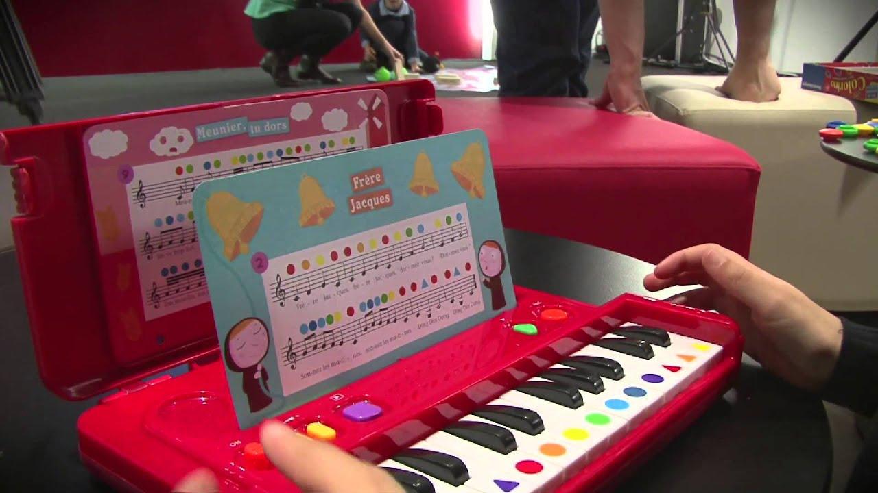 avec le clavier j 39 apprends la musique de nathan vos enfants deviendront des pianistes hors. Black Bedroom Furniture Sets. Home Design Ideas