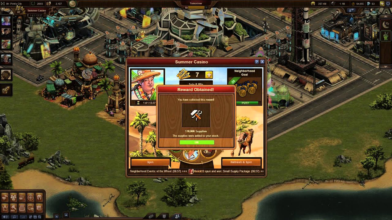 Forge of Empires Summer Event 2015 - YouTube