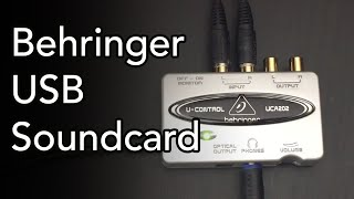 Behringer USB Soundcard UCA202 - Review