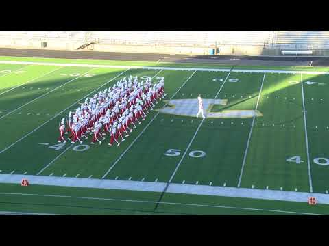 2021 UIL Region Marching Performance