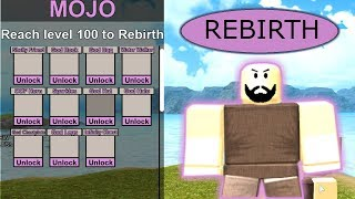 MOJO UPDATE REVIEW! (DATA WIPE, GOD ARMOR, GOD BAG, ETC) Roblox Booga Booga