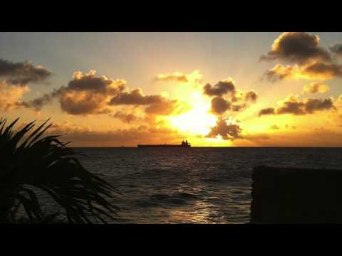 Sunset in Curaçao by Brad Myers