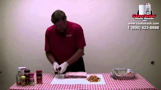 Amerique- Smoked Peaches & Pork Loin