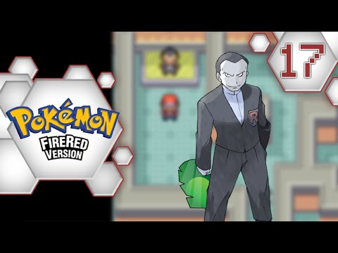 Pokemon FireRed: EP 17 - One, Two, Tree island + Viridian Gym Leader Giovanni