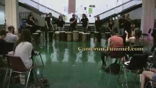 CalArts Djembe Ensemble Dundunba 4/29/14