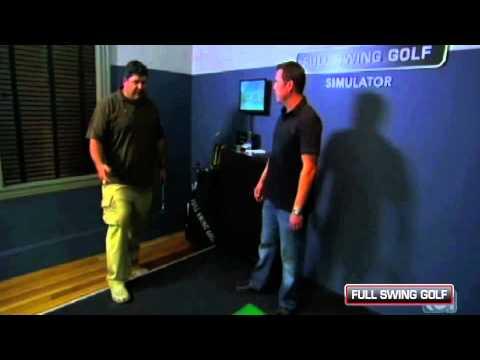 Man Caves Dan Patrick : Golf simulator in dan patrick studio youtube