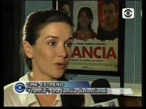 Natalia Oreiro talks about Francia - Canal 10