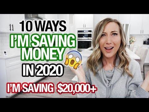 10 WAYS IM SAVING MONEY IN 2020 | I'm saving $20,000