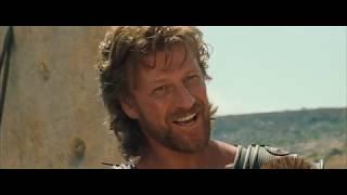 Троя. Одиссей уговаривает Ахилеса идти на войну с Троей