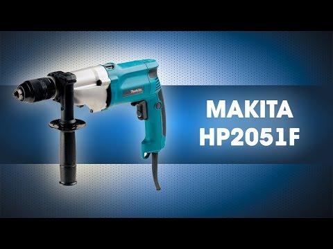 Дрель ударная 720 Вт, MAKITA, HP2051F